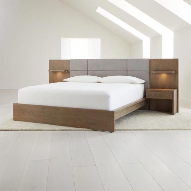 Platform Bed With Nightstands