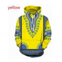 Afri Hoodies Yellow