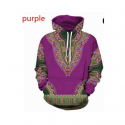 Afri Hoodies Purple