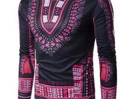 Temisan – Long Sleeves Tshirt Black & Orange